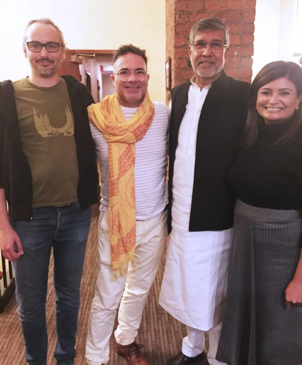 Joya Dass & Kailash Satyarthi – Nobel Peace Prize